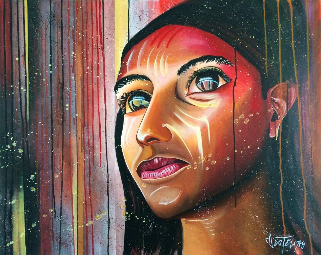 dreamful 80x100 cm acryl