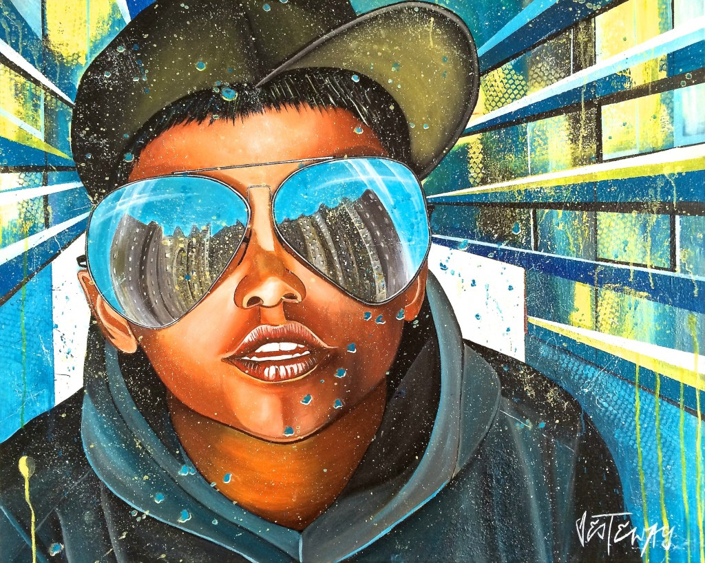 sunglasses 80x100 cm acryl